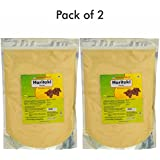 Herbal Hills Haritaki Powder - 1 Kg Powder Pack Of 2 Pure Natural Harde Churna - Colon Cleanser And Digestion