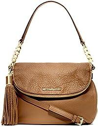 Michael Kors Bedford Medium Tassle Convertible Acorn Shoulder Bag