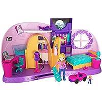 Polly Pocket Habitación Polly-Transformación, casa de muñecas (Mattel FRY98)