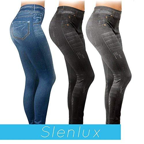 slenlux Jeggings - 3 Leggings tessuto Redutech - Tonifica Rimodella