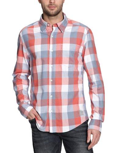 MEXX Herren Freizeithemd H5RE4264 Pink (637)