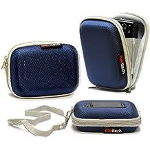 Navitech Case/Custodia Blu Resistente all'acqua per Samsung WB30F / ST150F / DV150F / ST200F /DV151F / ST72 / ST77 / DV300F / WB750 / WB700 / WB210 / T96 / ST95 / ST93 / ST700 / ST66 / ST65 / ST6500 / ST30 / PL210 / PL20 / PL170 / PL120 / MV800 / ES90 / ES80 / MV900F /SH100