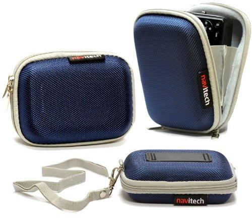 Housse étui Navitech (bleu) appareil photo numérique pour Samsung WB30F / ST150F / DV150F / ST200F / DV151F / ST72 / ST77 / DV300F / WB750 / WB700 / W...