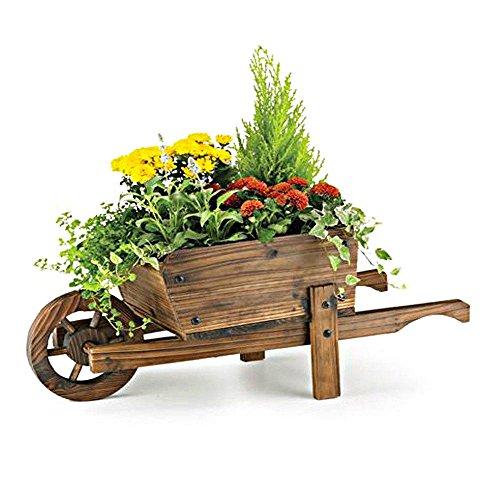 Etwas Neues genug Blumentopf Schubkarren für bessere Gartenarbeit - Gartengeräte von &MT_36