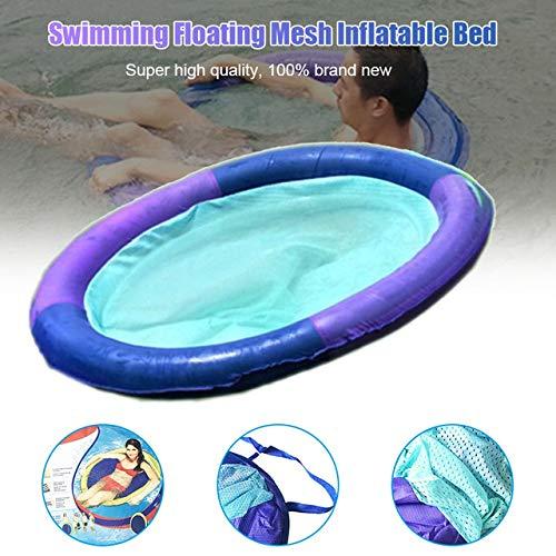 Frühling Lounge-sessel Sitz (CJDSPWODI Schwimmen Sie Frühling Float Mesh Float für Pool See Schwimmen schwimmende Mesh aufblasbares Bett)