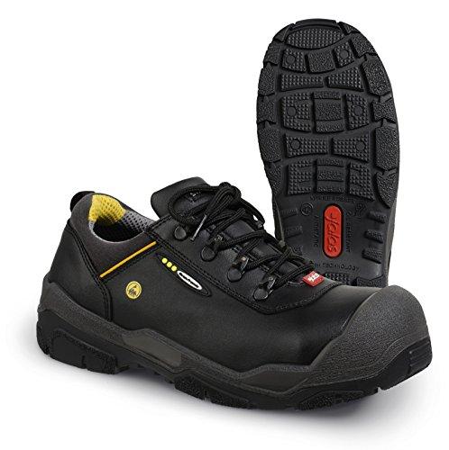 Jalas, Chaussures De Sécurité Pour Hommes, Noir / Gris / Jaune