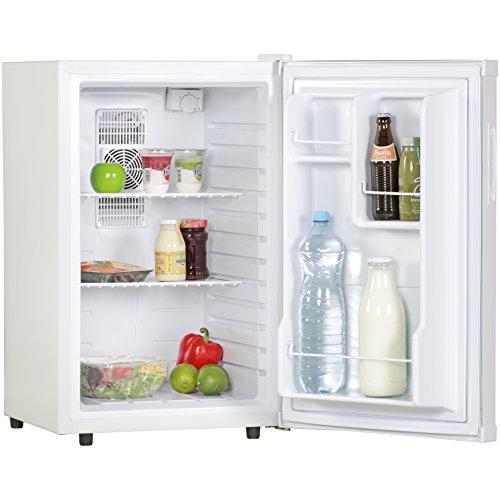 Amstyle Minikühlschrank 65 Liter Minibar Weiß freistehender Mini Kühlschrank...