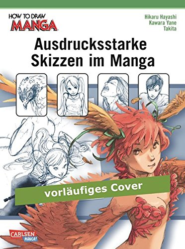 Ausdrucksstarke Skizzen im Manga
