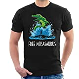 Free Mosasaurus Jurassic World Willy Men's T-Shirt