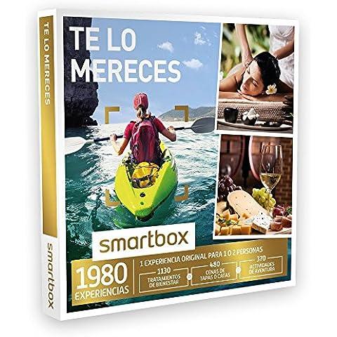 SMARTBOX - Caja Regalo - TE LO MERECES - 1980 experiencias como masajes, menús de tapas, catas, rutas en quad, canoa...