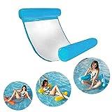 HomeYoo WWasserhängematte, Ultrabequeme Wasser-Hängematte, Aufblasbares Kopf- & Fußteil Pool...