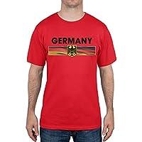 Germany Eagle Crest Red Soccer T-Shirt