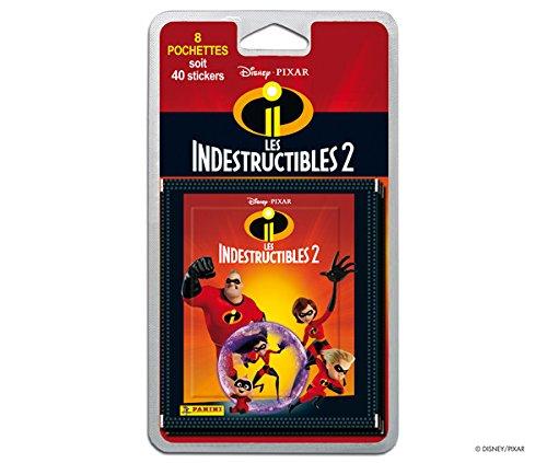 Panini Francia sa-Increíbles 2Blister 8Bolsillos Juguete, 2411-038