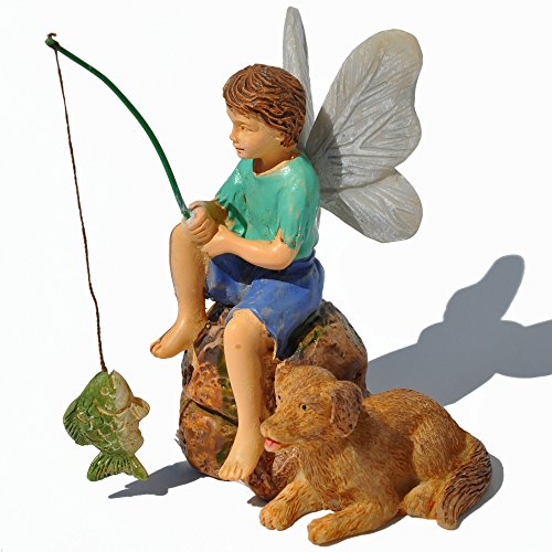 Miniatur Fairy Garden Gone Fishin ' Marshalls Home Goods