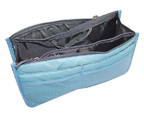 Sac à main Organisateur avec 13 compartiments du sac à cosmétiques trousse de toilette sac de Voyage de MyBeautyworld24 de marque