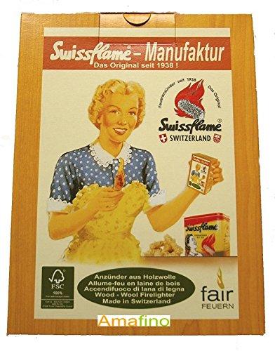 Preisvergleich Produktbild Swissflame Anzünder 3 Karton ca. 150 Stück/1800 gramm Amafino
