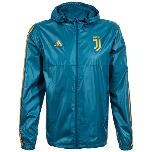 adidas Herren Juventus 3-Streifen Windbreaker Jacke, Multi-Colour/Petnoc/Azunoc, L Preisvergleich