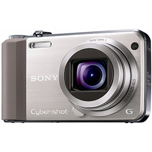 Sony DSC-HX7VN Digitalkamera (16 Megapixel, 10-fach opt. Zoom, Full HD Videoaufnahme, GPS, 7,6 cm (3 Zoll) Display, bildstabilisiert) gold