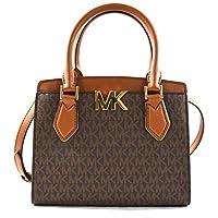 حقيبة يد قابلة للطي مقاس M طويلة تمر بالجسم بتصميم ساعي البريد من مايكل كورس للنساء