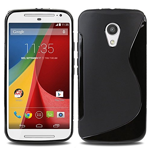 Plastron S Line TPU Soft Silicon Gel Back Case Cover For Motorola Moto G2 Sec Generation G2
