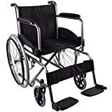 Lightweight and Self-Propelled Wheelchair | Model Alcazaba | Mobiclinic | Height: 86 cm | Great Safety and Robustness | Ergonomic Seat and Backrest | Made of Steel | Maximum Weight Supported: 100 kg