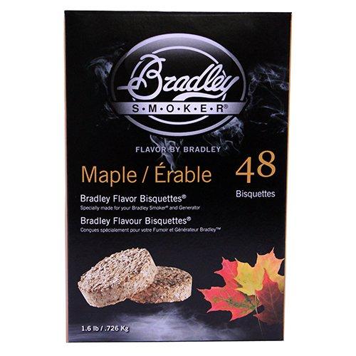 Bradley Food Smoker Bisquettes btmp4848Bisquettes Pack, Pure Ahornholz. 16Stunden Räuchern aus - Bradley Food Smoker