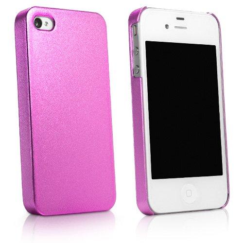 BoxWave Coque rigide pour iPhone 4S-Profil bas, Coque Ultra fine-Étuis et housses pour iPhone 4S (idéal Rose