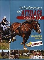Les Fondamentaux de l'Attelage - Galops 1 à 7 (Equitation) de L. Grard Guenard