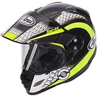Arai Tour-X 4Dual Sport Aventure–Casco per Moto, Coperchio in rete giallo