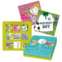 Tallon Just To Say Kids Birthday Card (Box of 8)