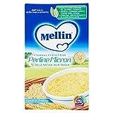 Mellin - Perline Micron, Pastina Primi Mesi, Alimento per l'Infanzia , 350 g - [confezione da 12]