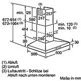 Siemens LC67WA532 iQ300 Wandhaube / 60 cm / Wahlweise Abluft- oder Umluftbetrieb / für Wandmontage über Kochstellen / edelstahl - 7