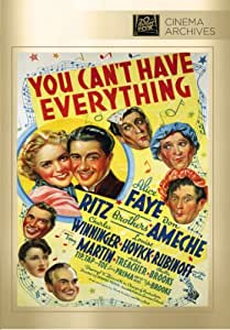 You Can't Have Everything [DVD] [1937] [Region 1] [US Import] [NTSC]