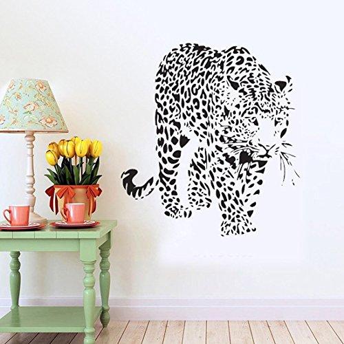Preisvergleich Produktbild SMCTCRED Wandaufkleber Aufkleber, Kancil Sika Deer 3D Home Kinderzimmer Wanddekoration Removable DIY Wandaufkleber Aufkleber für Kinder Jungen Mädchen Schlafzimmer Wohnzimmer Showcase