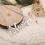 #7: Always Harry Potter Locket Pendant Necklace for Men And Women