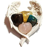 Reiki heilende Energie geladen Krystal Gifts UK Reiki Energie geladen selbstbewusst Kristall Geschenk Set in Engel... preisvergleich bei billige-tabletten.eu