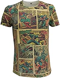 Marvel T-Shirt -XL- Captain America Comic