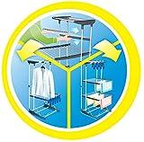 Vileda Viva Dry Multiflex Turmtrockner mit höhenverstellbaren und rausnehmbaren Trockenregalen - 6
