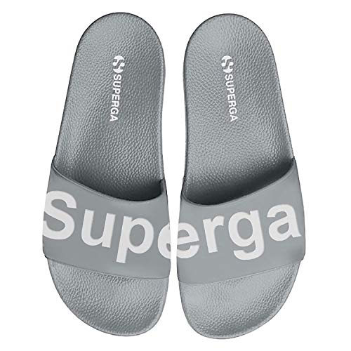 Superga 1908 PUU Slide Grey Ash 38