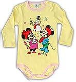 Unbekannt - Body - para bebé niña Amarillo 62-68 cm (6-9 Meses)
