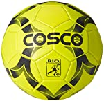 Designed for Sturdy Use Being a PVC machine stitched football, this Cosco Rio ball has been built to withstand extreme use during rough game play. Having a solid PVC cover, this Cosco football is prepared for all types of kicks and passes on its w...