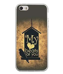 PrintVisa Designer Back Case Cover for Apple iPhone 4S (Dove Jalsa)
