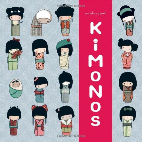 Kokeshi Kimono Book por Chronicle Books