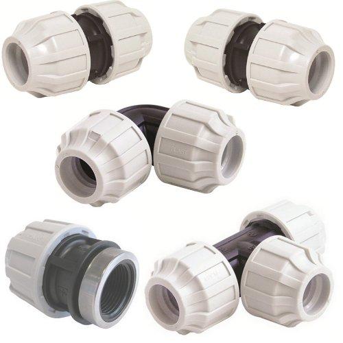 PP Kupplung Anschlussset PP, für 32 mm PE-Rohr