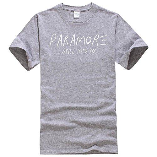BOMOVO Herren TShirt Shirt Oberteil NEW QUAY TEE Schwarz Weiß Grau Rot Slim  Fit Grau