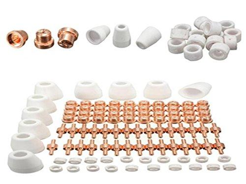 Luft-Plasma-Schneiden Cutter Verbrauchsmaterial Erweiterte für PT-31 LG 40 Torch Cut-50D 60pcs - 2