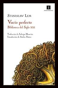 Vacío perfecto par Stanislaw Lem