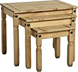 Furniture Best Deals - Corona Nest of Tables