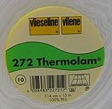 1 m kompaktes Volumenvlies 272 Thermolam von Freudenberg 90 cm breit