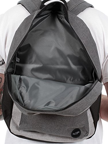 Globe Unisex Dux Deluxe Pack Rucksack Grey Charcoal